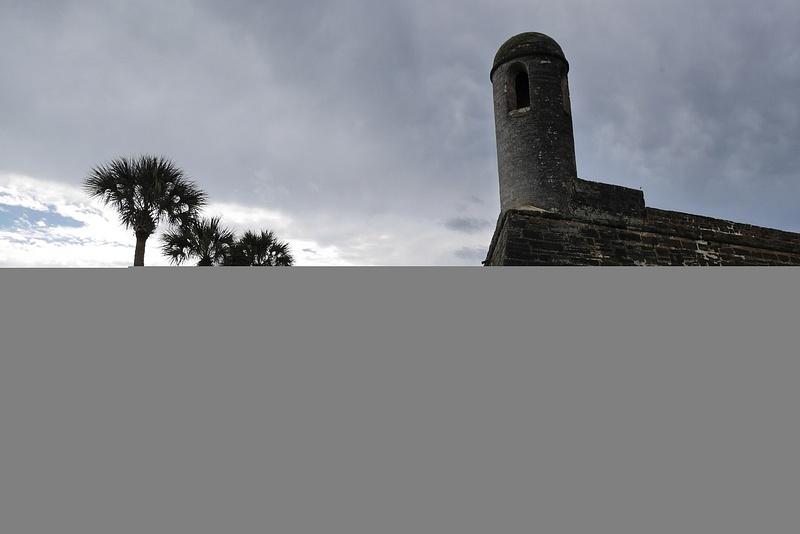 St.Augustinen vanhin pystyssä oleva rakennelma