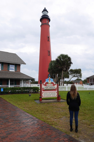 Ponce de Leon Inlet Lighthouse by hannajamikko