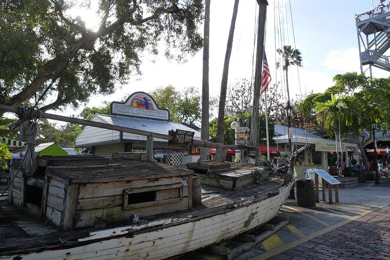 Vanha paatti Key Westissä