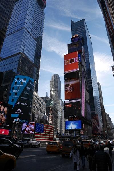 Times Square by hannajamikko
