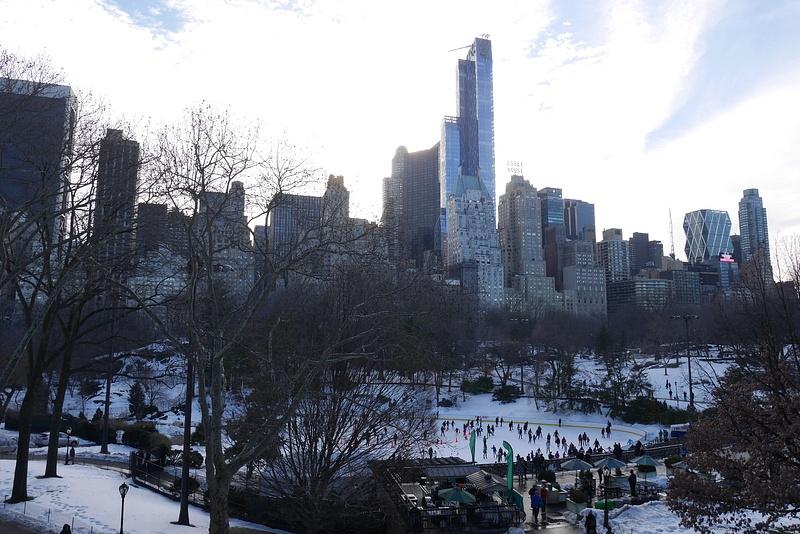Central Parkin luisteluareena sponsored by Trump