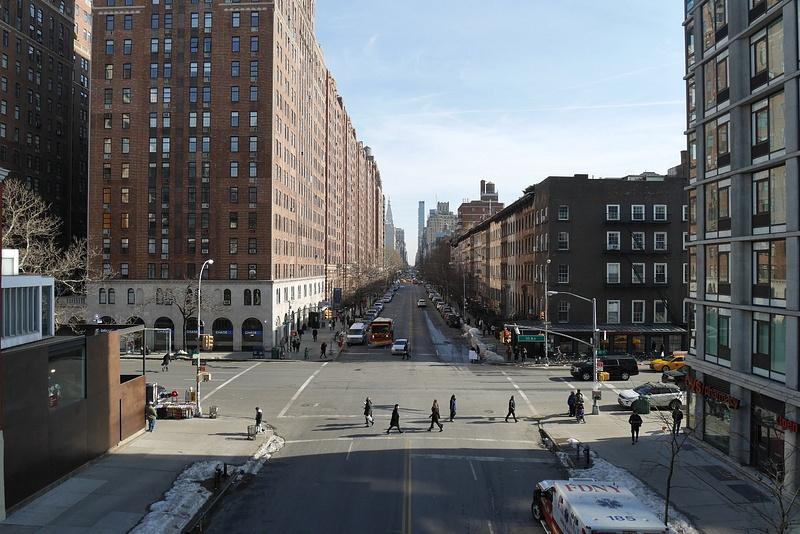 Manhattanin High Lane on vanha junarata, joka on nykyään suosittu kävelyreitti korkealla.