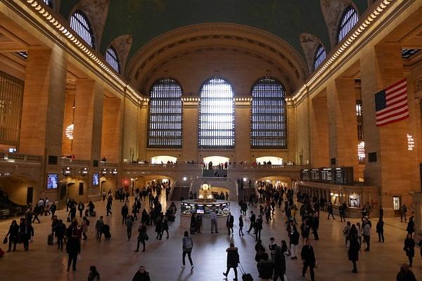 Grand Central Terminal by hannajamikko