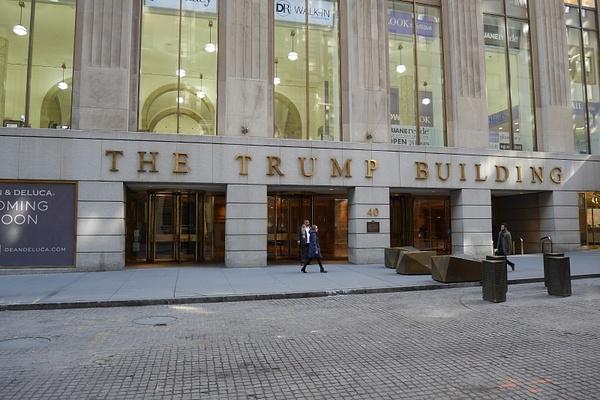 40 Wall Street eli Trumpin talo by hannajamikko