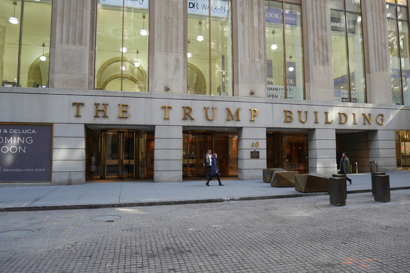 40 Wall Street eli Trumpin talo