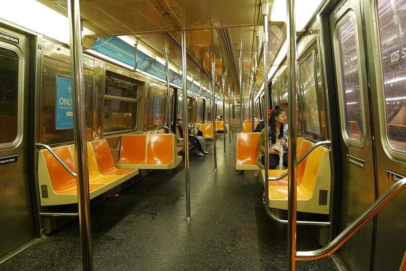 Subway kerrankin tyhjänä