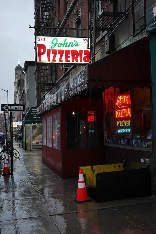 John's Pizzeria on listattu New Yorkin parhaaksi