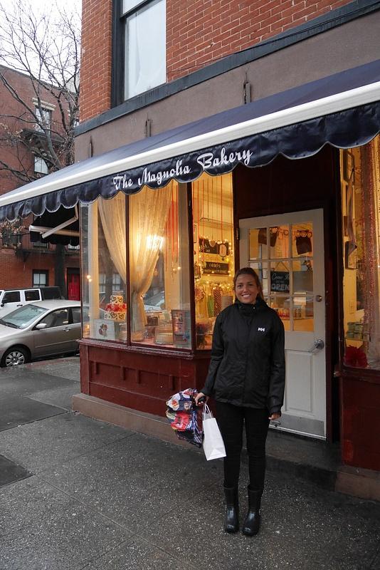 Sinkkuelämästäkin tuttu Magnolia Bakery