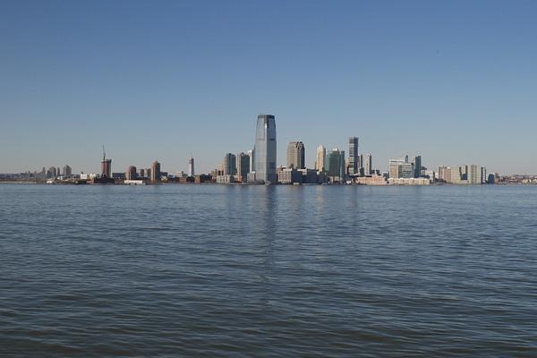 Jersey City lautalta Staten Islandiin by hannajamikko