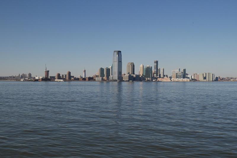 Jersey City lautalta Staten Islandiin