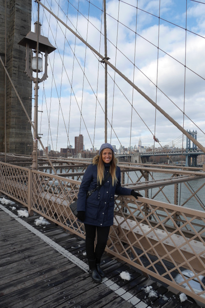 Brooklyn Bridge by hannajamikko