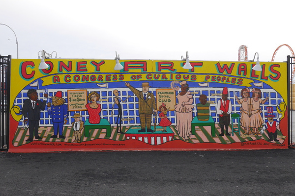 Coney Island Freak Show by hannajamikko