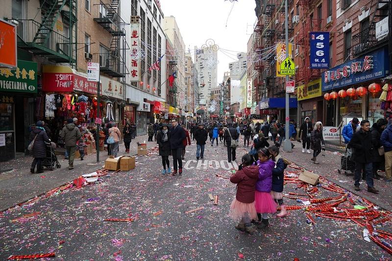 Chinatown ja kiinalainen uusi vuosi