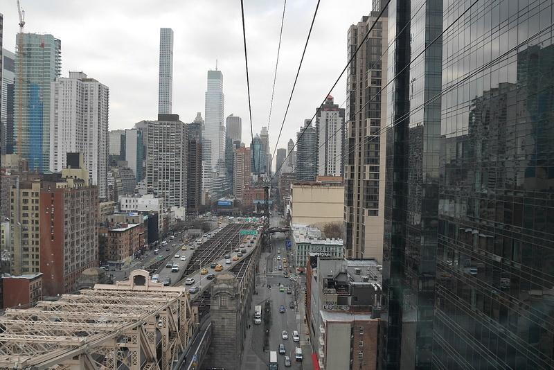 Manhattan-maisemaa gondolista