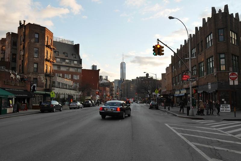 WTC tien päässä