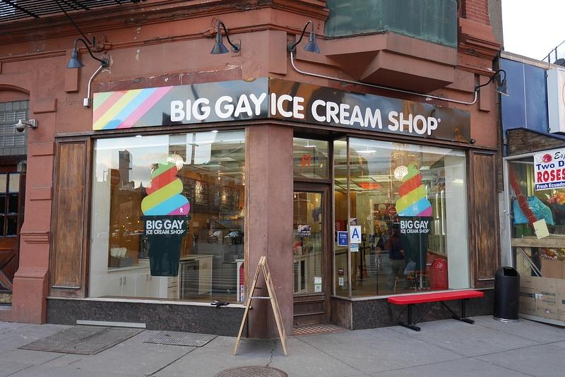Jäätelöä Greenwich Villagen tapaan