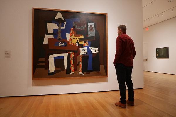 MoMAssa oli mm. Pablo Picasson maalauksia by hannajamikko