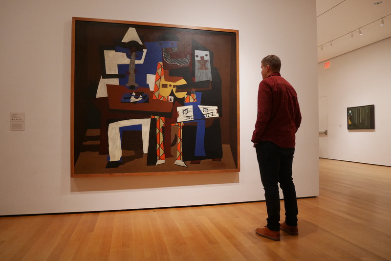 MoMAssa oli mm. Pablo Picasson maalauksia
