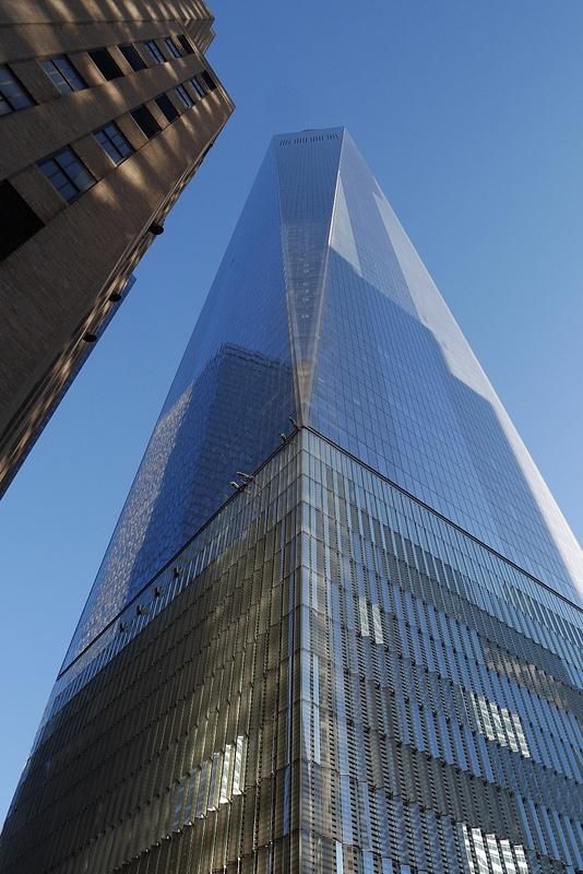 Käytiin ystävänpäivän kunniaksi tuolla korkialla ihastelemassa maisemaa, One World Trade Center joka on avattu 2015
