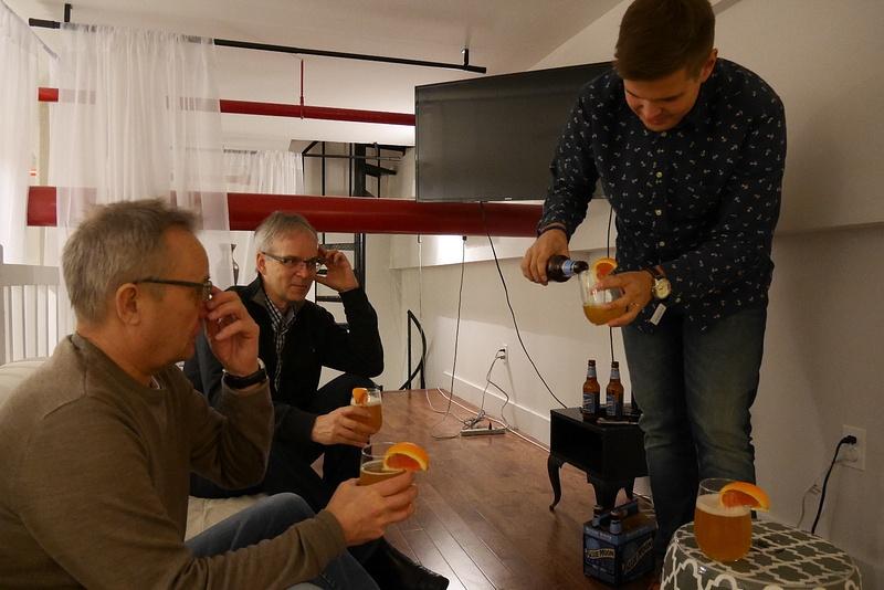 Oulun reissukaverit pääsivät perille