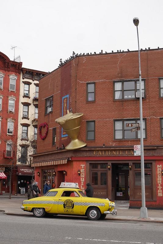West Villagen ravintolakadulla