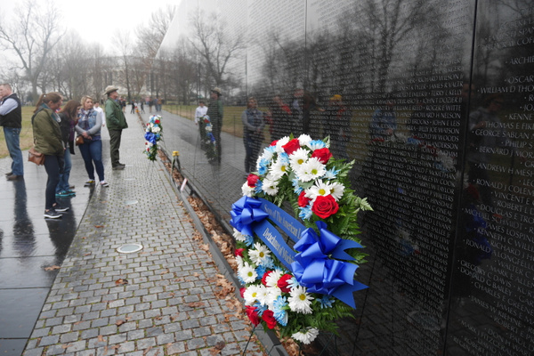Vietnam Veterans Memorial by hannajamikko