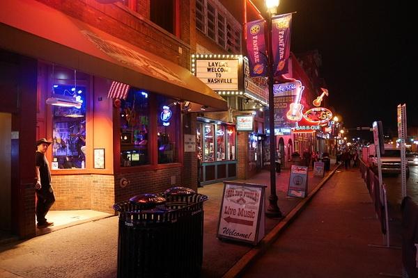 Nashvillen keskustaa by hannajamikko