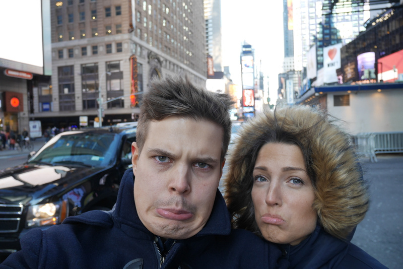 Hei hei New York ja reissu