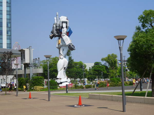 Gundam Front by franckinjapan