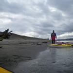 Kayaking the Columbia River