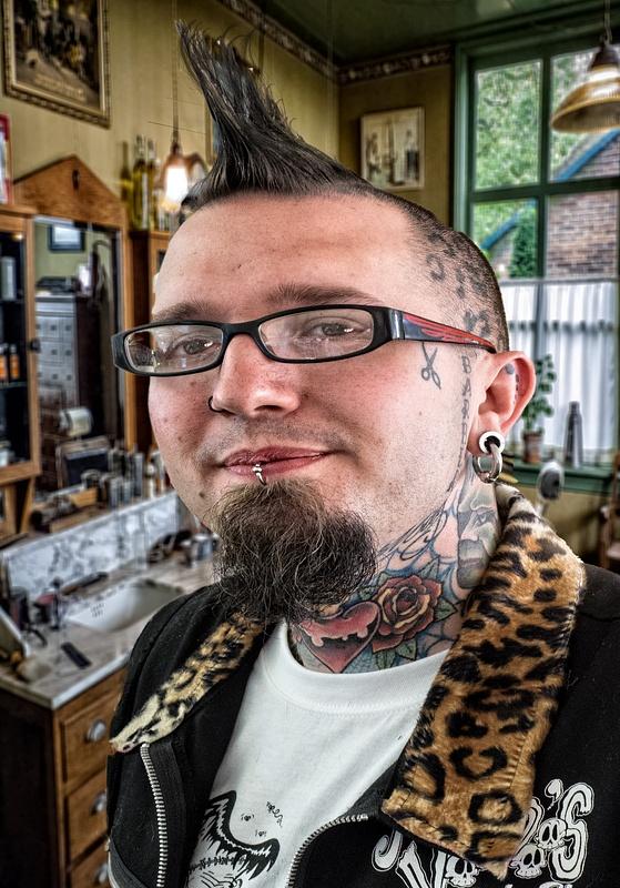 Punk barber