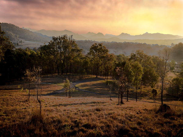 Boonah sunset. by CliveHammond2446