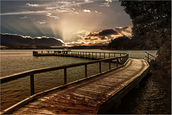 jetty at dusk- by CliveHammond2446
