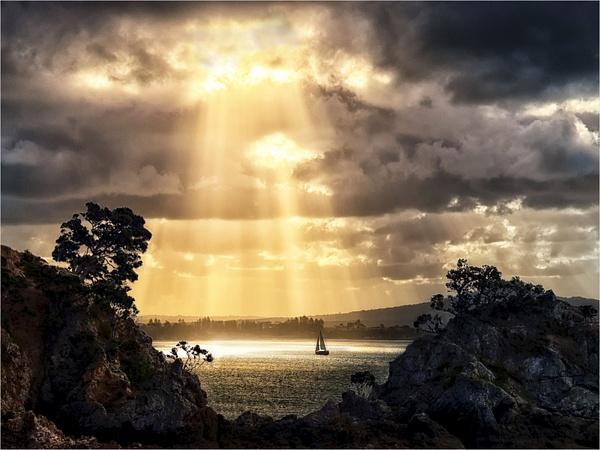 Sunset Waiheke Island by CliveHammond2446