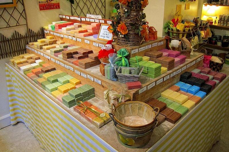 Boutique de savons à Rouen