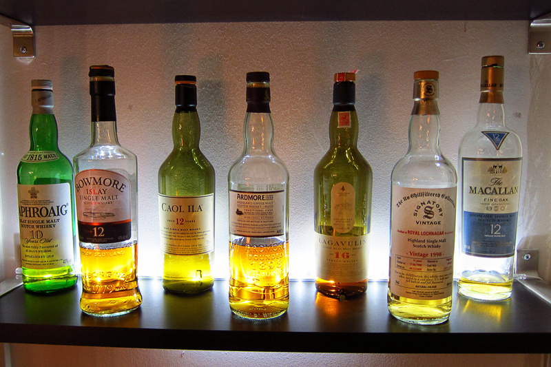 Les bouteilles de Sam