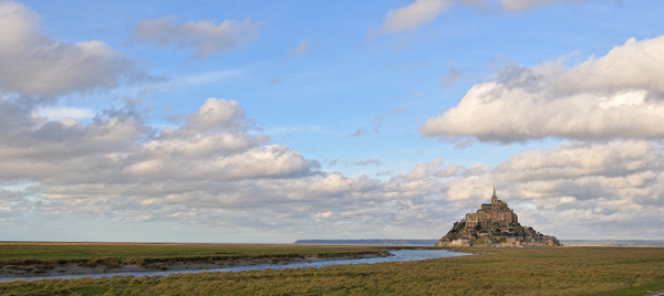 Mont St-Michel by BaronMingus