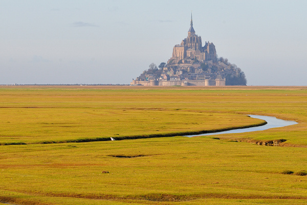 Mont St-Michel by BaronMingus