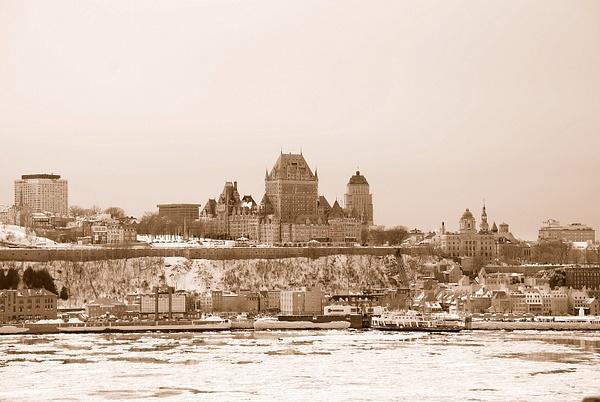 Québec vu de Lévis by BaronMingus