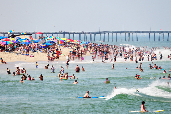 Virginia beach by BaronMingus