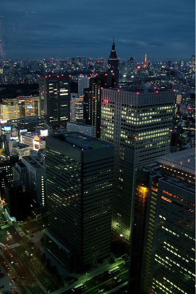 Tokyo by BaronMingus