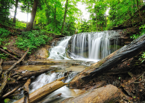 Weavers Creek Falls, Owen Sound, ON by BaronMingus