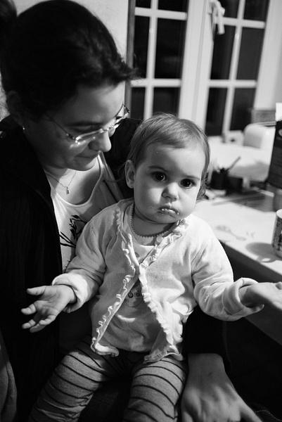 Lisa et maman by BaronMingus