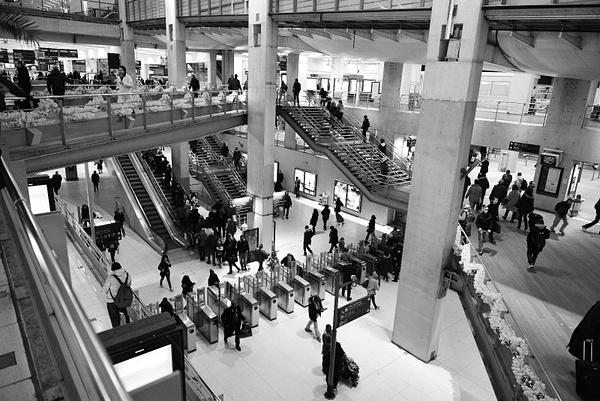 Gare du Nord by BaronMingus