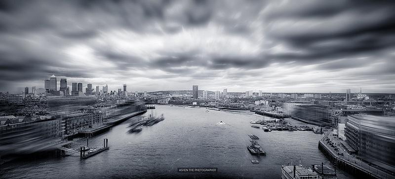 London_HDR_BW_Pano