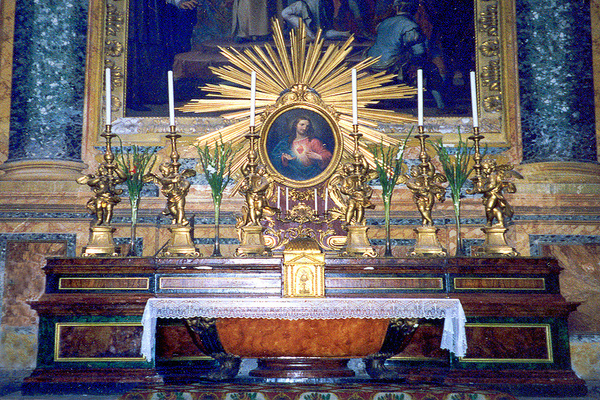 Saint Peters Altar-001 by James Bickler