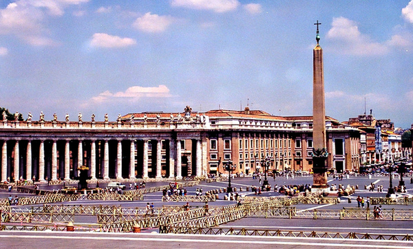 Saint Peter's Square_pe copy by James Bickler