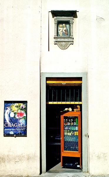 Florence Doorway 1 by James Bickler