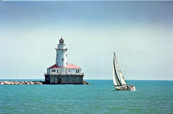 Chicago Lighthouse 8.99-001 by James Bickler