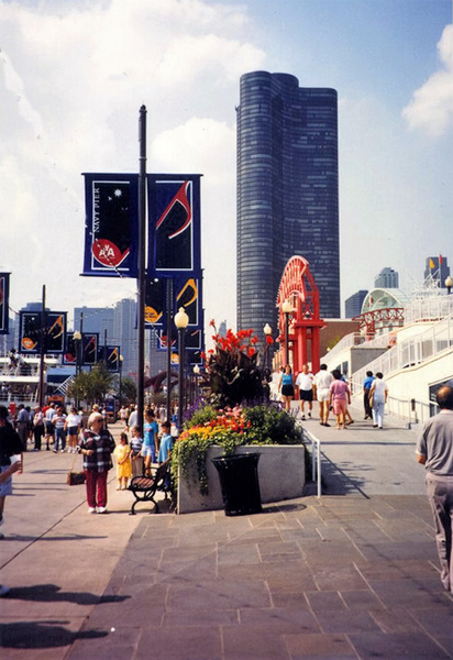 Navy Pier 1998 by James Bickler
